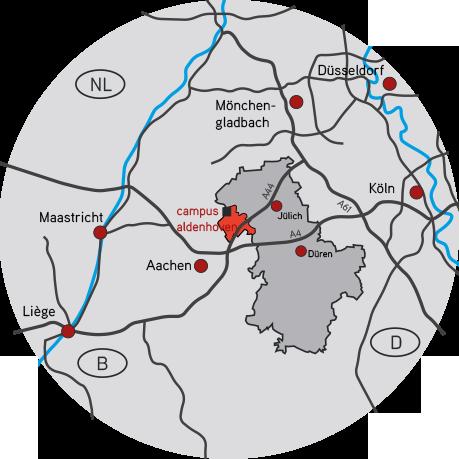 campus aldenhoven Karte
